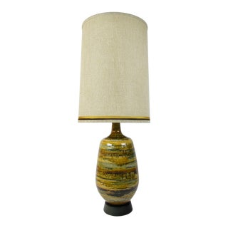 Mid-Century Modern Mad Men Style Lamp For Sale