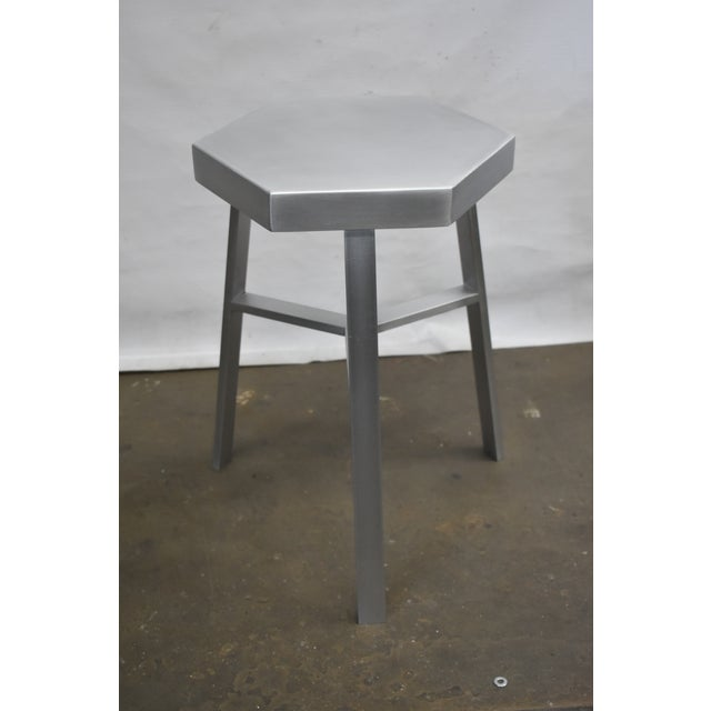 This is a new stool made in Brooklyn NY by Oblik studio inc. 100% recyclable stool fabricated from light and sturdy...