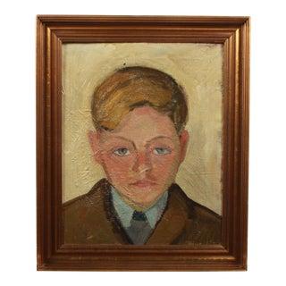 1946 Portrait of Boy Wearing a Suit