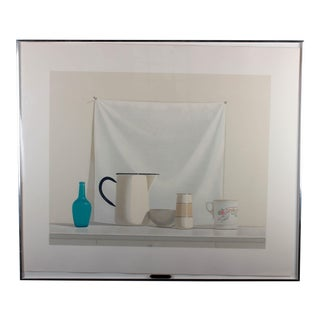 "Elsie Manville ""Think of Me"" Still Life Lithograph For Sale"