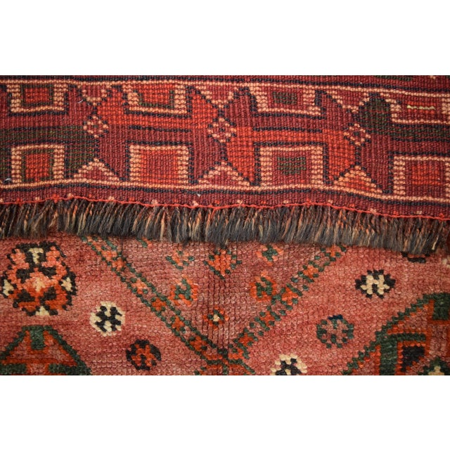Antique Caucasian Hand Knotted Traditional Rug - 4′7″ × 8′6″ For Sale - Image 4 of 5