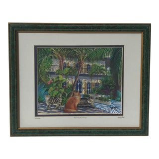 Alberto DeAndrea Hemingway House Giclee For Sale