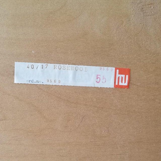 1960s Poul Hundevad Rosewood Four Drawer Dresser For Sale - Image 12 of 13