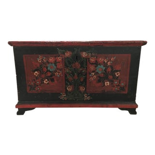 19th Century Painted Pine Chest
