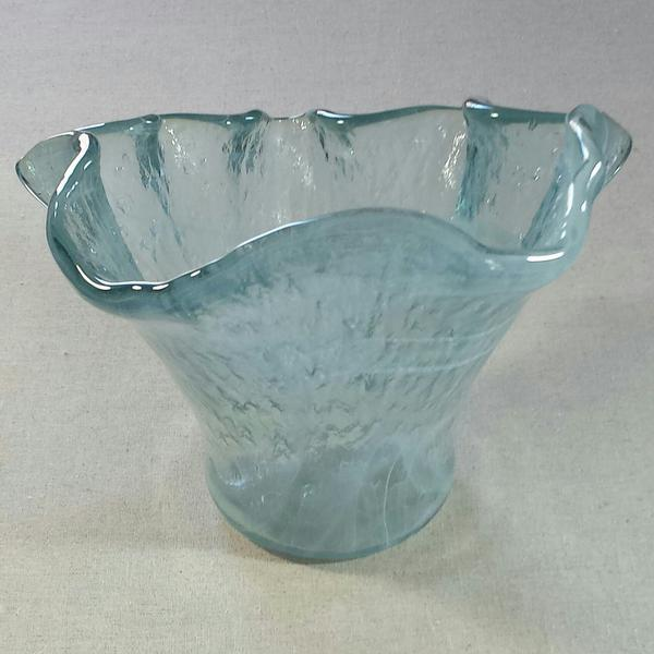 Spanish Hand Blown Glass Vase For Sale In Dallas - Image 6 of 6