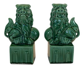 Image of Porcelain Bookends