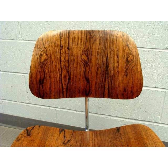 Herman Miller Eames DCM's Rosewood For Sale - Image 4 of 7