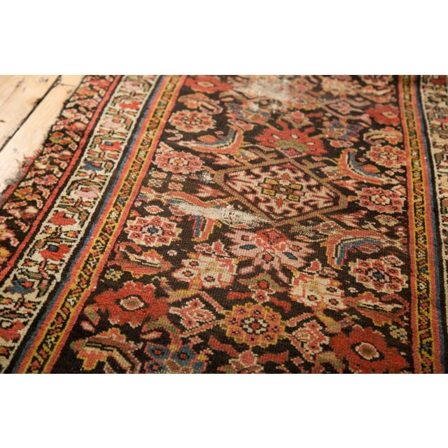 "Antique Distressed Rug Runner - 2'11"" X 12'8"" - Image 8 of 10"