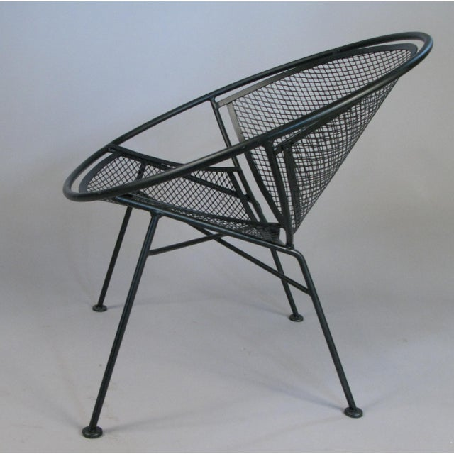 Modern Pair of Salterini 'Radar' Collection Lounge Chairs by Tempestini For Sale - Image 3 of 7