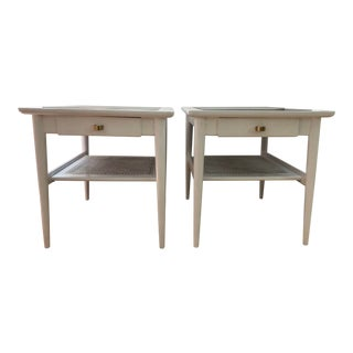 """Mid-Century Modern """"American of Martinsville"""" Side Tables - a Pair"""
