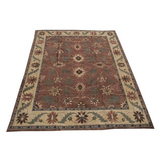 Late 19th Century Antique Arts & Crafts Design Hand-Knotted Rug - 12′ × 15′ For Sale