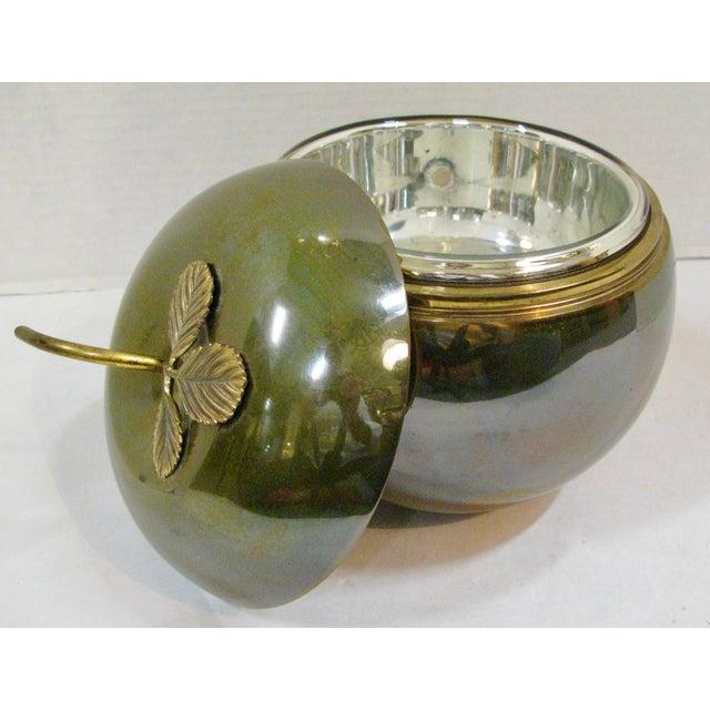 Art Deco Art-Deco Apple Ice Bucket by Apollo Studio, 1920 For Sale - Image 3 of 11