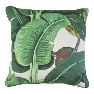 Banana Leaf Custom Pillow