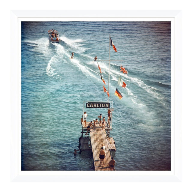 """Slim Aarons, """"Cannes Watersports,"""" January 1, 1958 Getty Images Gallery Art Print For Sale"""