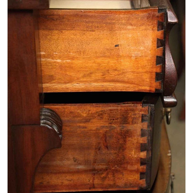 Antique Maple Claw Foot Dresser - Image 6 of 10