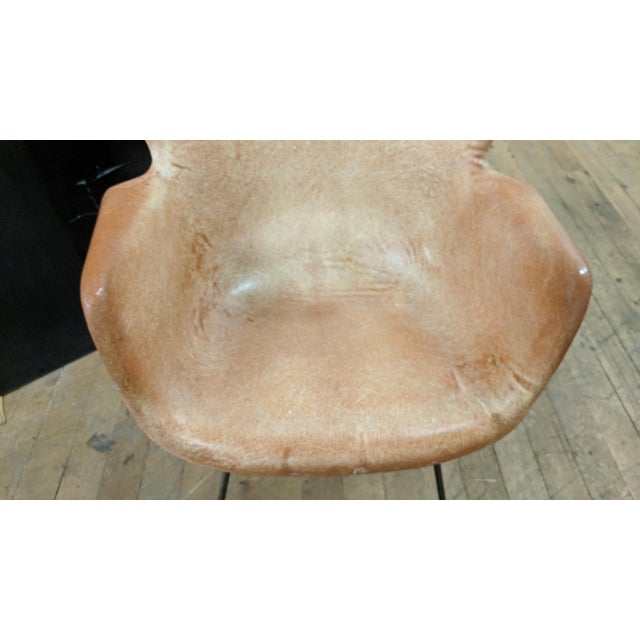 Lawrence Peabody for Selig Mid-Century Wingback Fiberglass Chair - Image 5 of 12