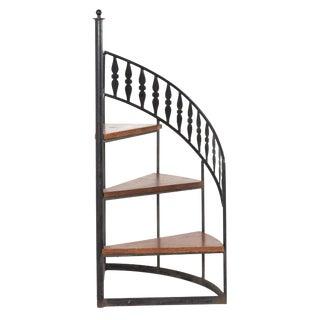 Arthur Umanoff Mid Century Stair Step Display Shelf For Sale