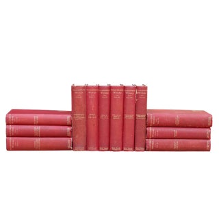 Shakespeare's Works, Set of 12 Antique Books 1882-1886