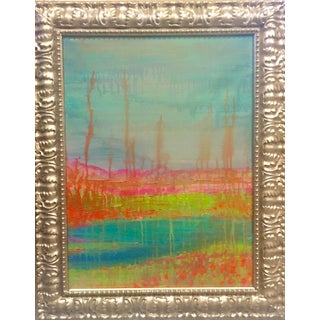 Original Artwork on Canvas by Artist Ron Curlee Ii, Abstract Naturalism Series For Sale