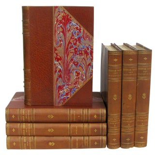 Antique George Sand Limited Editions, C.1900, S/7 For Sale