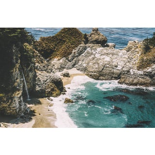 McWay Falls - Big Sur Original Framed 16x20 Photograph For Sale