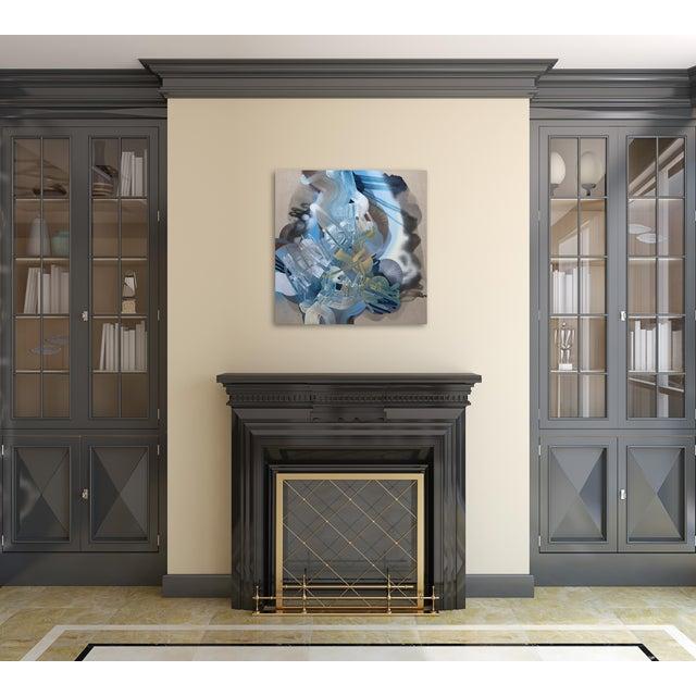 "White ""Crestfallen"" Original Artwork by Dana Oldfather For Sale - Image 8 of 10"