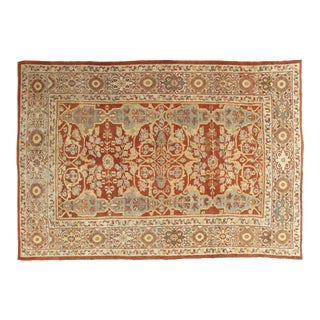 Late 19th Century Antique Persian Mahal Handmade Rug-8′5″ × 12′ For Sale