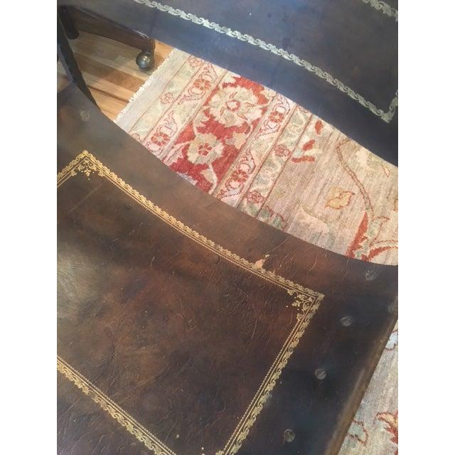 Antique Italian Savonarola Chair - Image 6 of 8