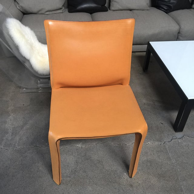 Cassina Cab Dining Chairs - Set of 4 - Image 2 of 5