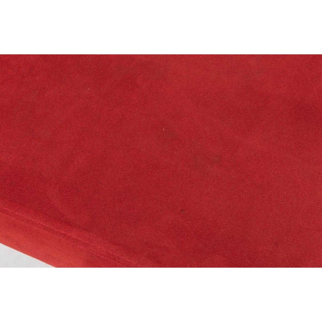 1970s Italian Red Chaise For Sale - Image 5 of 6