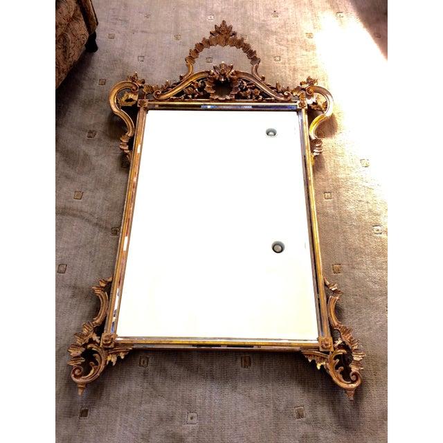 LaBarge Ornate Italian Giltwood Mirror - Image 2 of 9