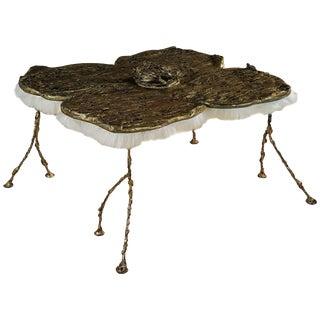 "Charly Bounan ""Warhol's Flower"" Table For Sale"