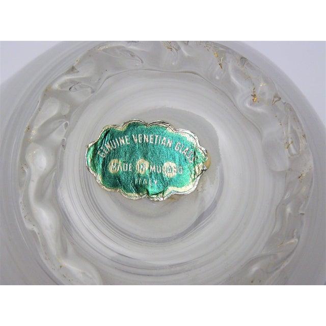 Vintage Aureliano Toso Murano Venetian Handkerchief Glass Vase-1950s Italian Italy Mid Century Modern MCM Millennial For Sale - Image 11 of 11