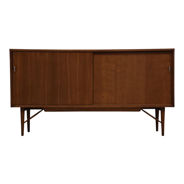 Solid Cherry Credenza by Kipp Stewart and Stewart MacDougall For Sale