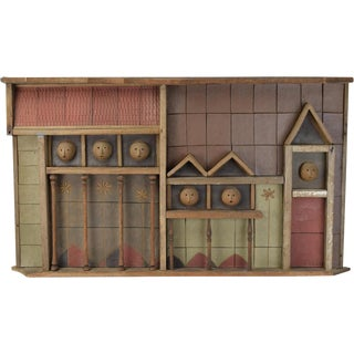 """""""North Avenue"""" Architectural Pottery Wall Sculpture"""