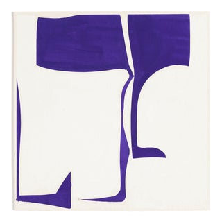 """Joanne Freeman """"Covers 13 - Purple A"""", Painting For Sale"""