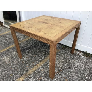 Henredon Chinese Chippendale Burl Dining Table Preview