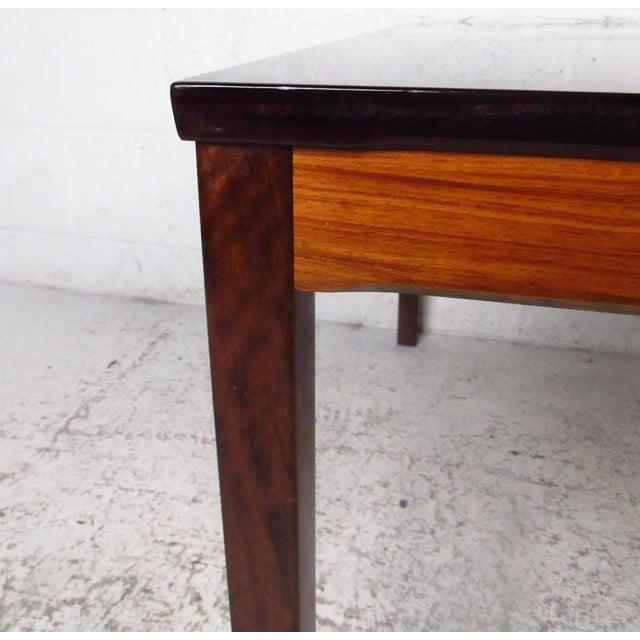 Mid-Century Bruksbo Rosewood Coffee Table by Haug Snekkeri For Sale In New York - Image 6 of 9