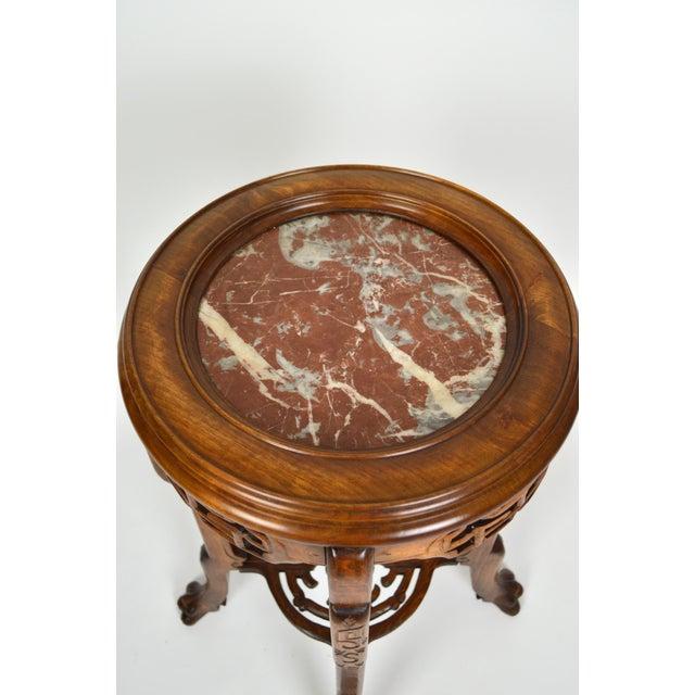 Japonisme Pedestal Table / Pot Stand For Sale - Image 6 of 13