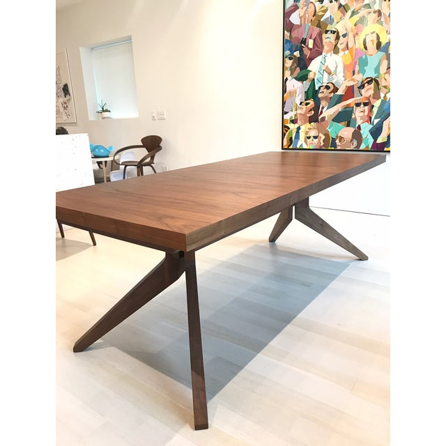Design Within Reach Walnut Cross Extension Dining Table Chairish