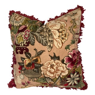 Textile Scenic Printed Pillow For Sale