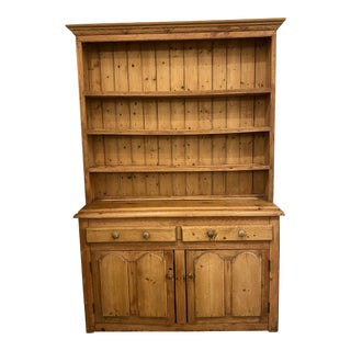 Early 20th Century American Classical Hutch For Sale