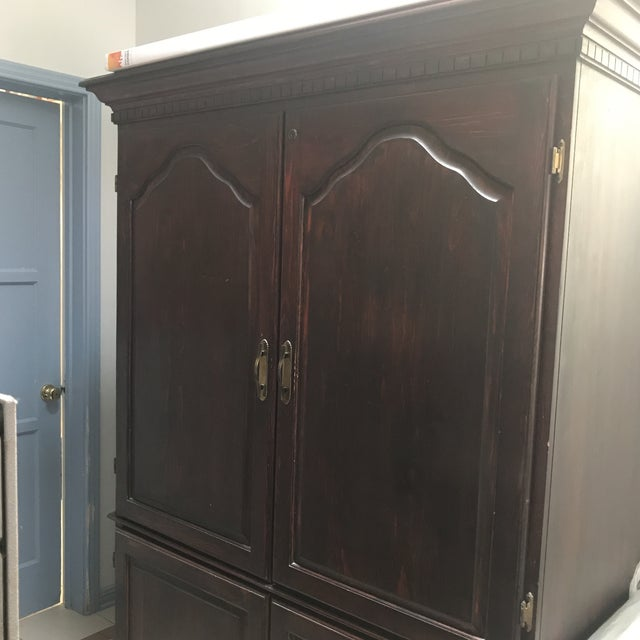 Armoire Desk Self Contained Office Workspace For Sale In Los Angeles - Image 6 of 11