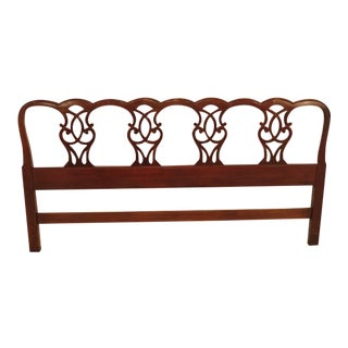 Drexel King Size Mahogany Bed Headboard
