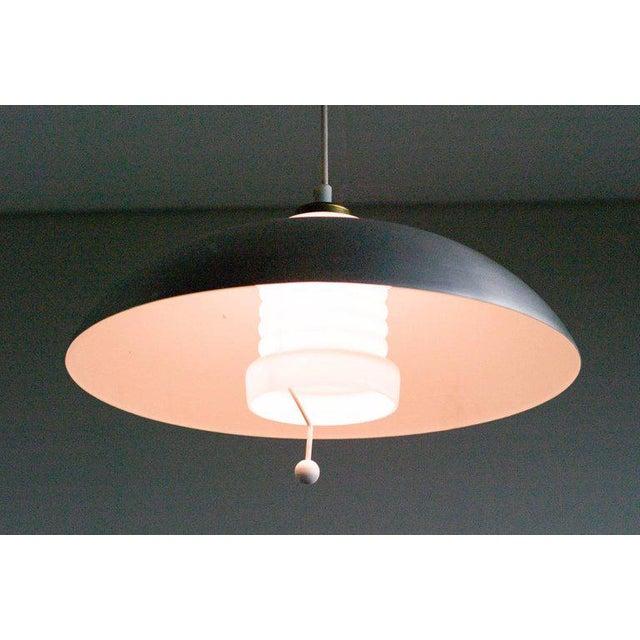 Counterbalance Pendant Lamp by Nordiska Kompaniet, (Nk), Sweden, 1950s For Sale - Image 6 of 6
