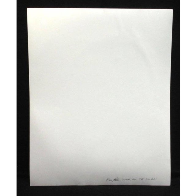 Figurative Early Silver Gelatin Print by Blake Little 'Untitled 'Man in Cube', 1990 For Sale - Image 3 of 7