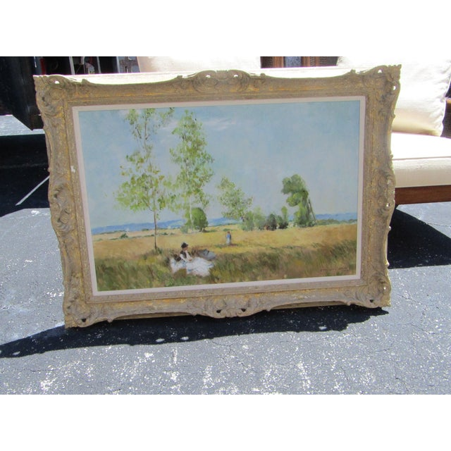 Absolutely stunning original oil painting by renowned painter Eleanor Ingersoll Maurice (1901-95). Her biography is...