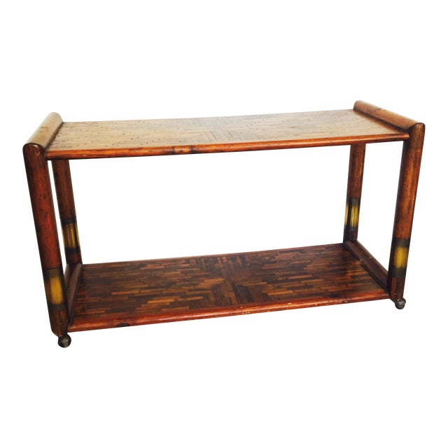 Mid-Century Rolling Buffet - Image 1 of 6