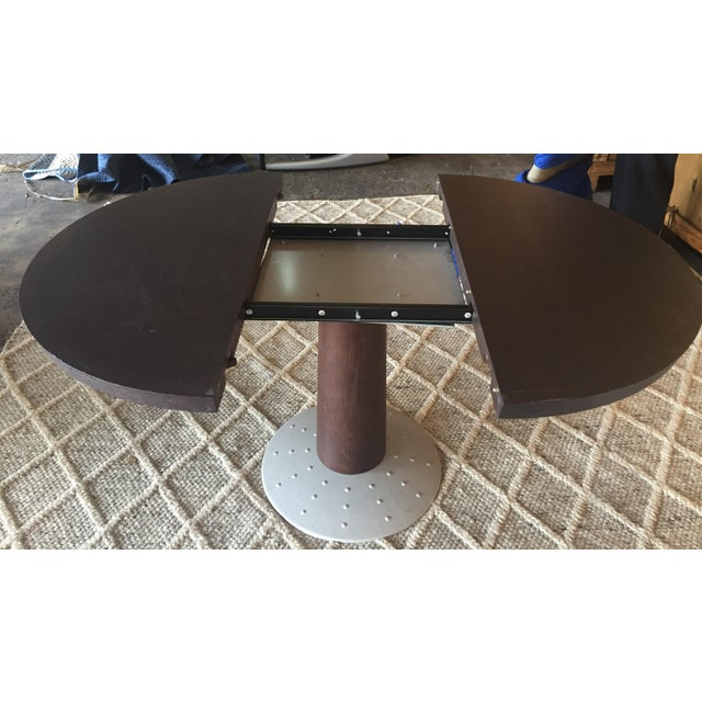 Modern Ligne Roset Round Dining Table For Sale - Image 3 of 5