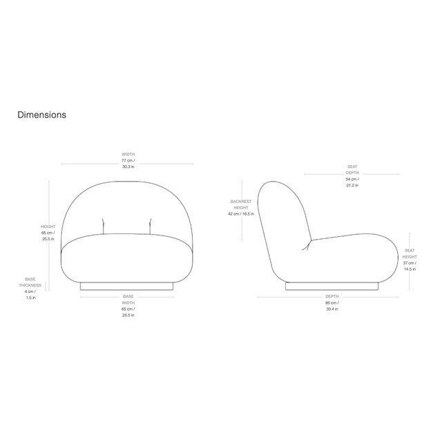 Pierre Paulin Pacha Lounge Chair. Paulin designed the Pacha Lounge Chair in 1975 with the intention of creating a...